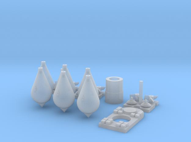 1/32 Carbonit 20kg Kit (6 off) in Smoothest Fine Detail Plastic