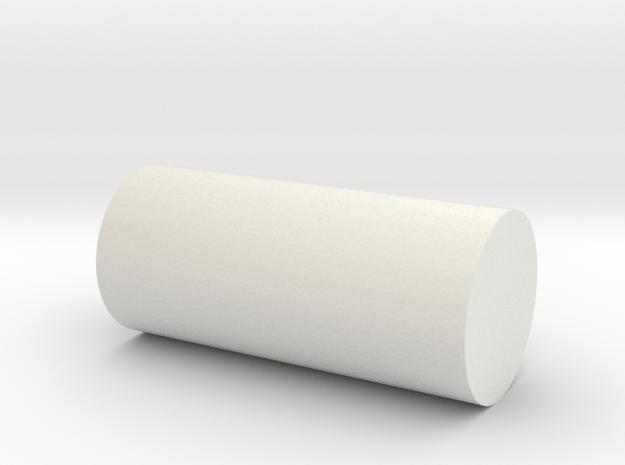 Rails to base fixture in White Natural Versatile Plastic