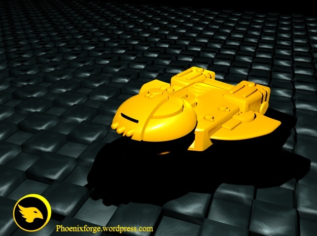 Cargo Ship in Yellow Strong & Flexible Polished