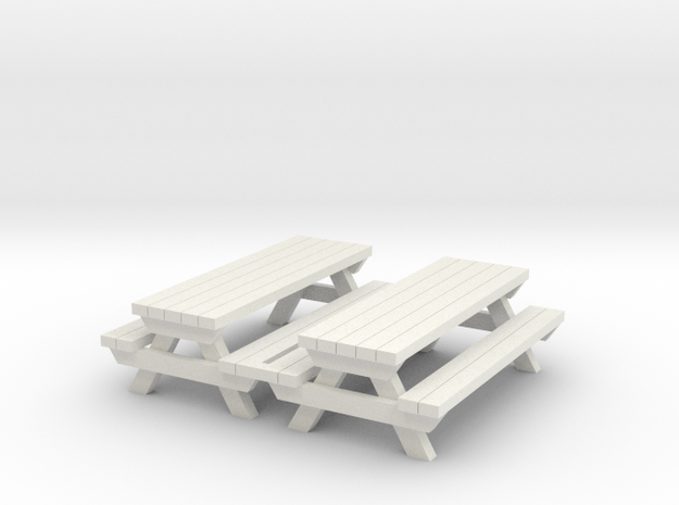Picnic Table - Qty (2) HO 1:87 scale