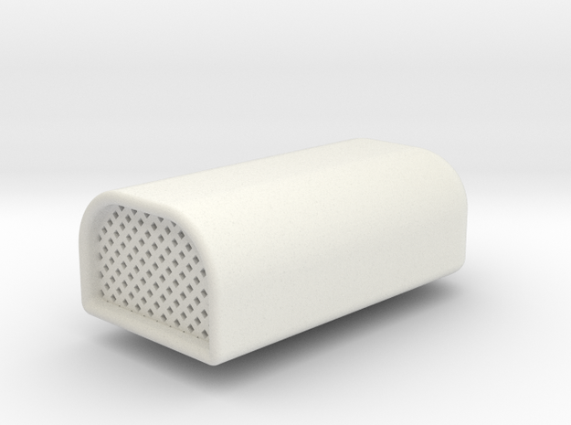 1/10 Super Charger Intake in White Natural Versatile Plastic