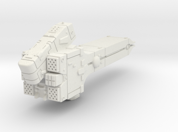 LoGH Imperial Destroyer 1:2000 in White Natural Versatile Plastic