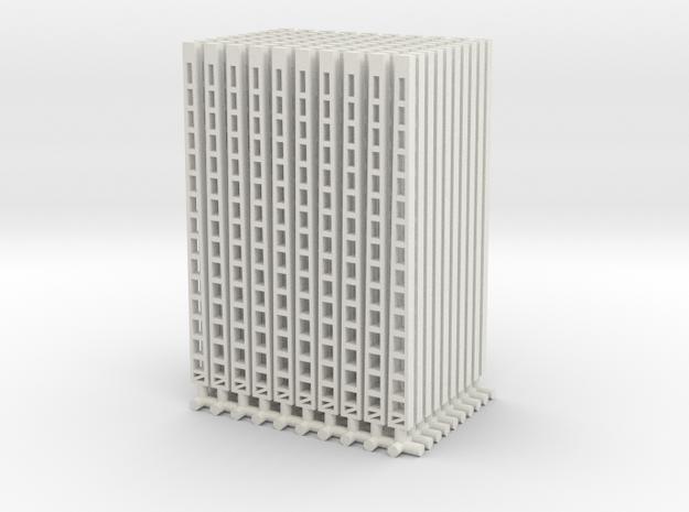 100 st. Oberleitungsmasten/bovenleidingmasten in White Natural Versatile Plastic