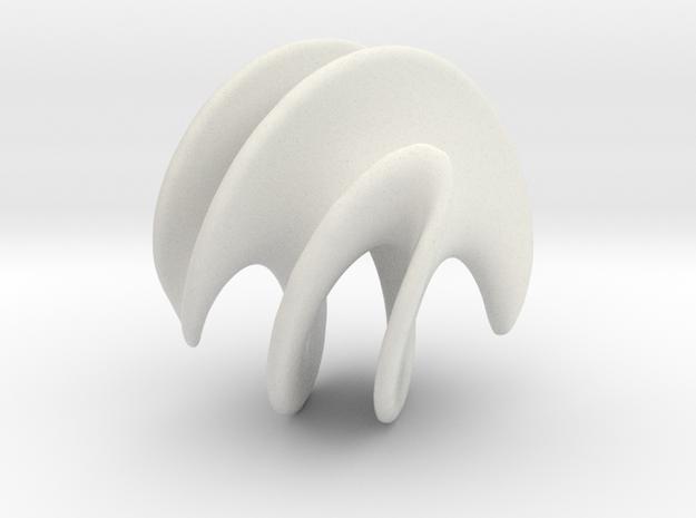 Catenox - 60mm in White Natural Versatile Plastic