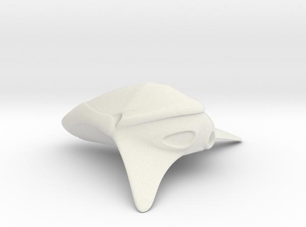 Aisal2 in White Natural Versatile Plastic