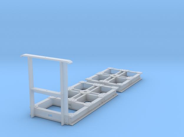 GN 15 Unterwagen für Eigenbauten in Smooth Fine Detail Plastic
