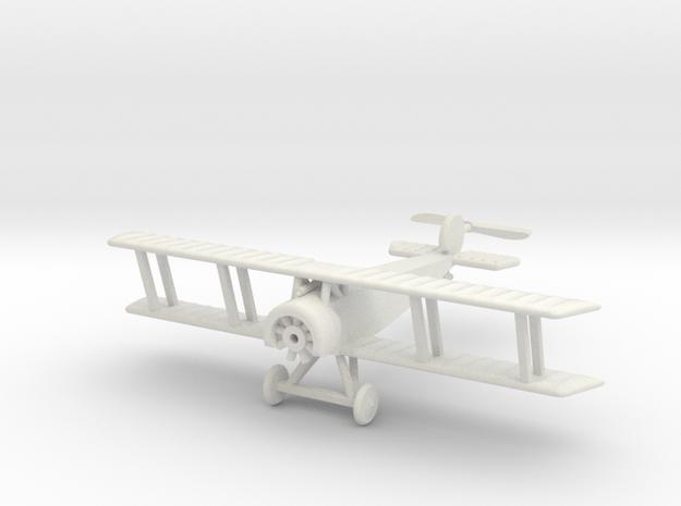 1/144 Fokker D.II in White Natural Versatile Plastic
