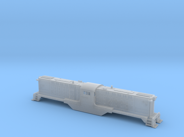 Baldwin DT6-6-2000 Center Cab N Scale 1:160 3d printed