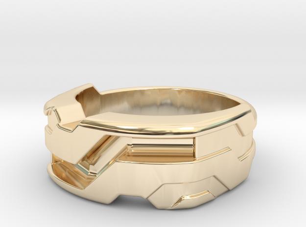 US10 Ring XXI: Tritium (Silver)