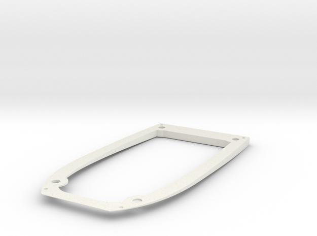Ranger EX Wing Angle Spacer Bottom Plate in White Natural Versatile Plastic