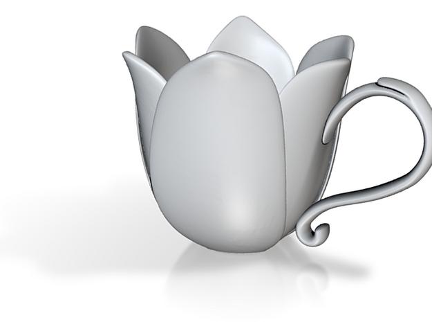 Flower Cup 3d printed