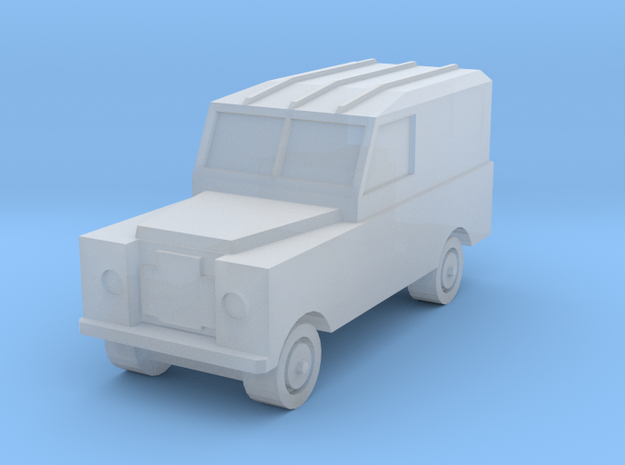 1/285 Land Rover S2x1 in Smooth Fine Detail Plastic