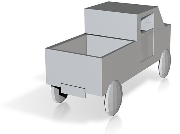 Truck (2) in White Natural Versatile Plastic