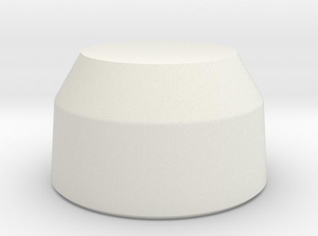 Comlink Cap Revision in White Natural Versatile Plastic