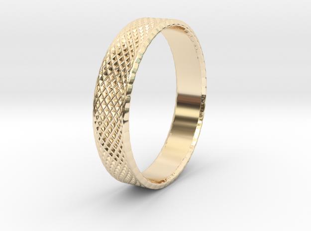 0103 Lissajous Figure Ring (Size10.5, 20.2mm) #004