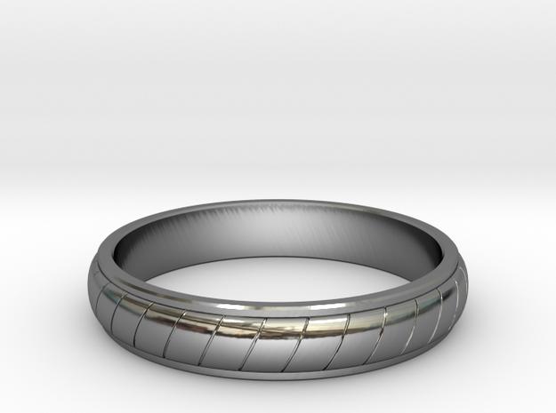 Ring T60 in Premium Silver