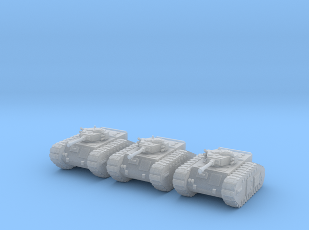 6mm Dieselpunk Mk.A APC (3) in Frosted Ultra Detail