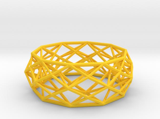 Bracelet Constructionist size M 3d printed