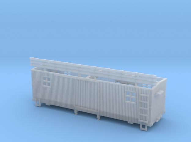 HOn30 25 foot MOW Boxcar type B 3d printed