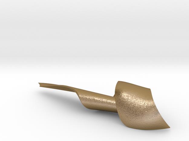 Envelope Opener 'Surat' in Polished Gold Steel