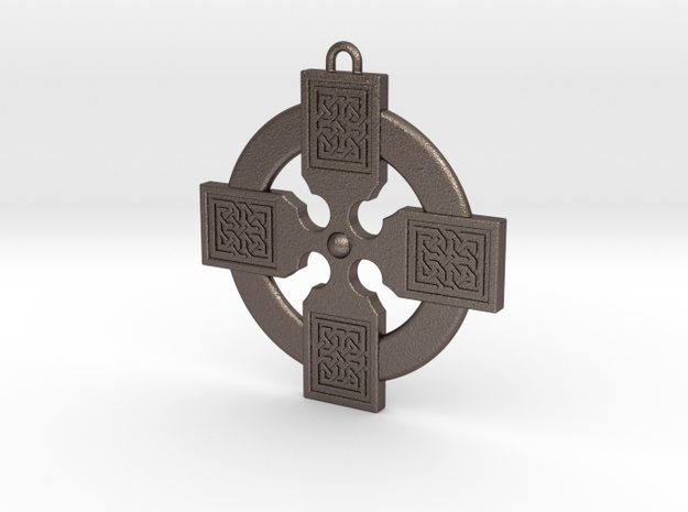 Celtic Cross 011 in Stainless Steel