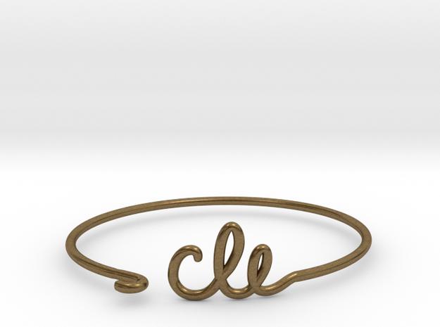 CLE Wire Bracelet (Cleveland)
