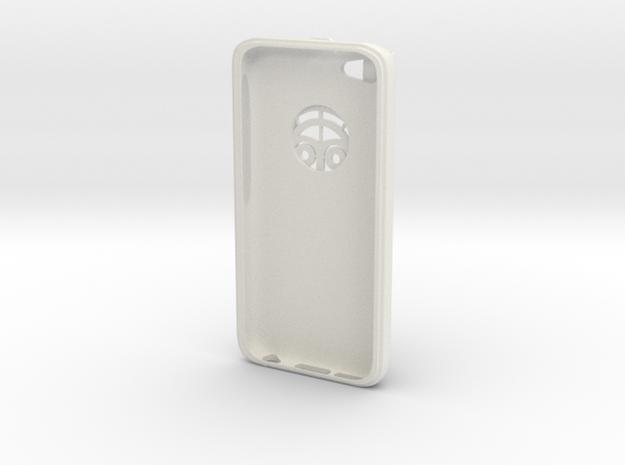 iPhone 5C / Dexcom Case - NightScout or Share in White Natural Versatile Plastic