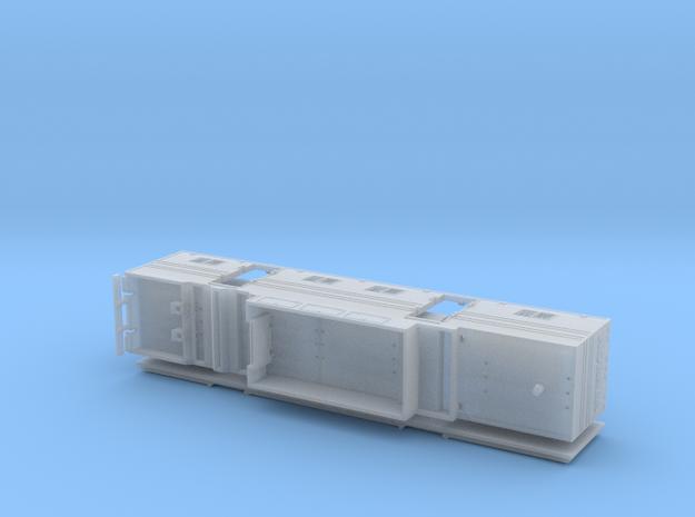 HO 1/87 Horsebox 48' Semi 03 in Smooth Fine Detail Plastic