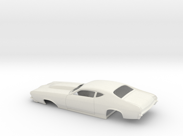 1/25 69 Chevelle Pro Mod One Piece Body