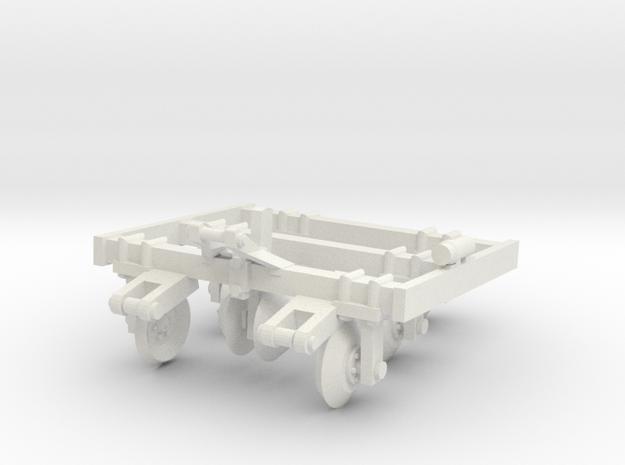 1/64 Track Closer in White Natural Versatile Plastic
