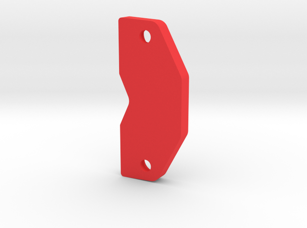 Strider Front Skid in Red Strong & Flexible Polished