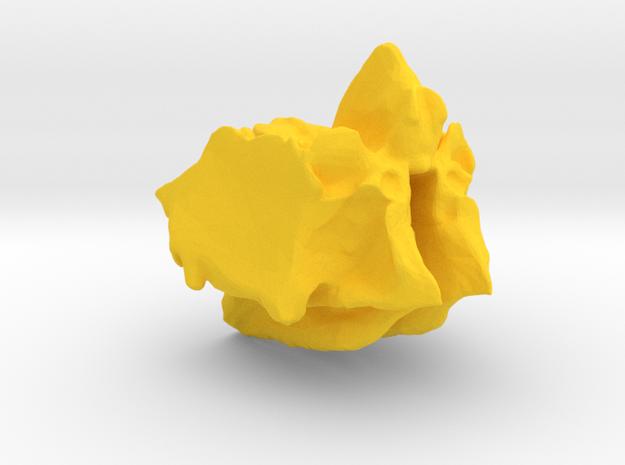 Ethmoid Bone of Cranium in Yellow Strong & Flexible Polished