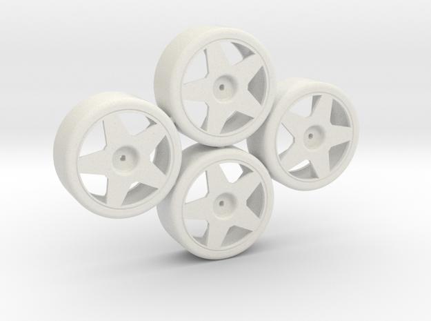 Losi Micro 1/24 Drift Wheel Set