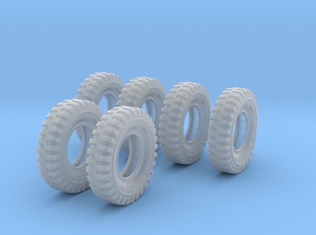 1-16 6xMilitary Tire 1200x20