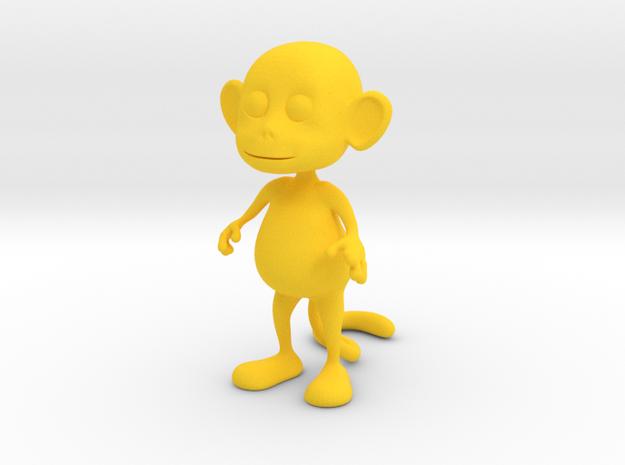 Tiny Monkey 3d printed