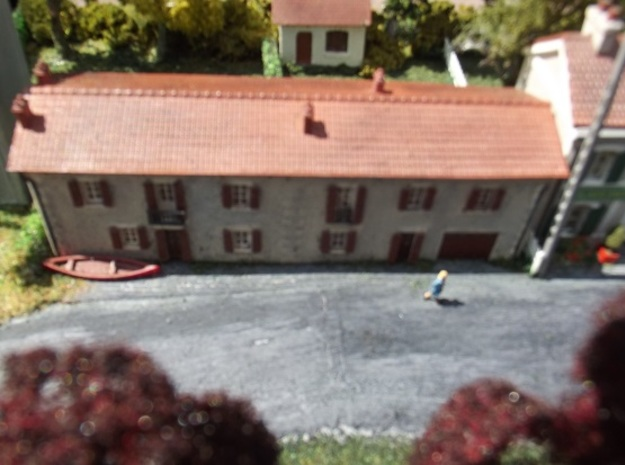 Cottages - FUD - Nm - 1:160 in Smooth Fine Detail Plastic