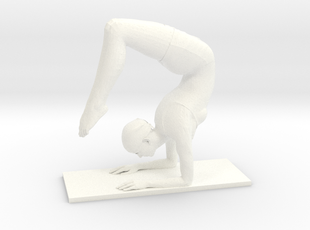 Scorpion handstand pose (small)