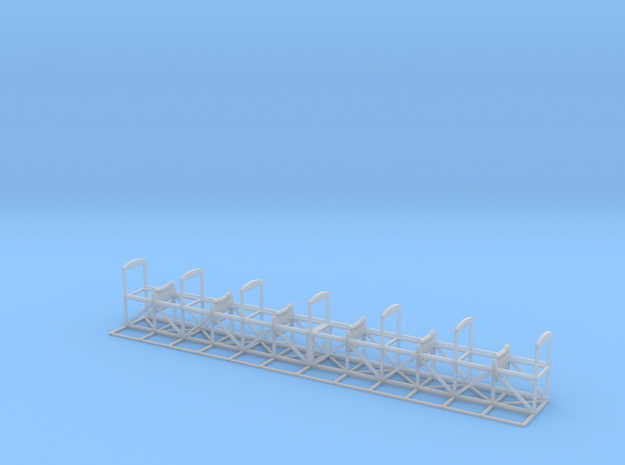 1/76th Scale Aggregate Conveyor in Smooth Fine Detail Plastic