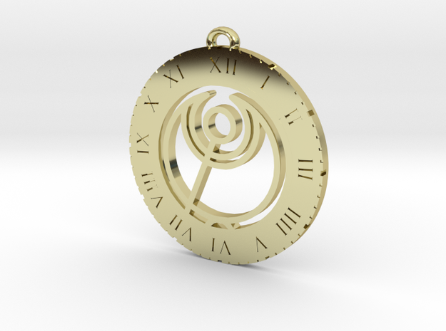 Abbi - Pendant in 18k Gold Plated Brass