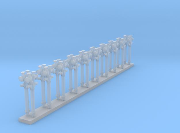 Standrohr 20Stück  in Smooth Fine Detail Plastic