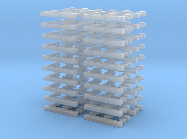 Blinker für Magirus D 40 x 3 Stck in Frosted Ultra Detail