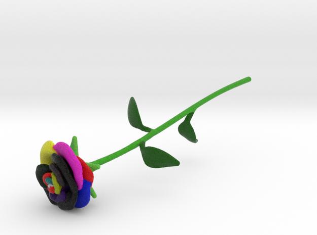 Technicolor Rose Full Color