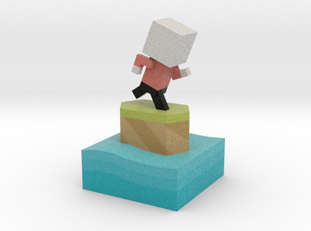 Mr Jump - Level 1 in Full Color Sandstone