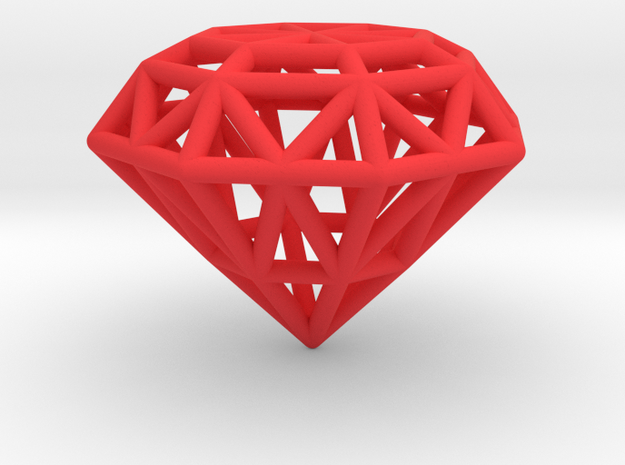 Rounded Diamond Lattice