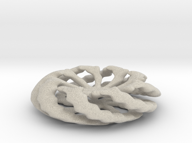 Chunky Stand for Orbs in Natural Sandstone