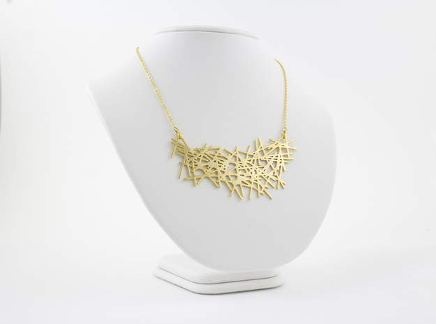 LINES NECKLACE in 18K Gold Plated