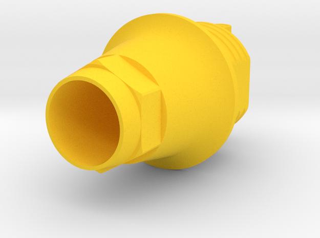 DIO Replica UF RPX6 - IND3DUFHRPX6-1 in Yellow Processed Versatile Plastic