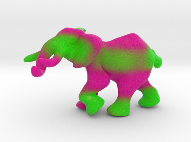Elephant 1'' in Full Color Sandstone