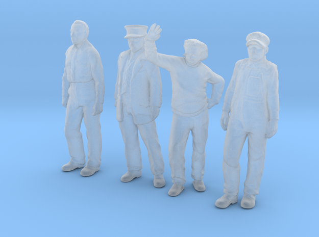 1:48 scale Standing Figure pack FUD