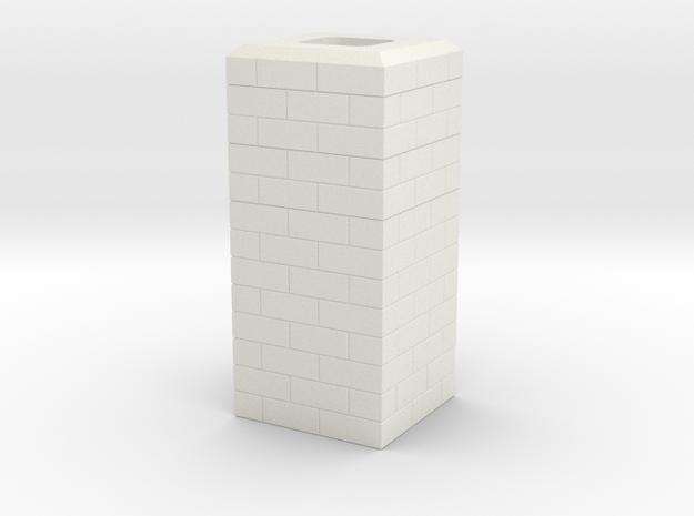Noel, MO Single Chimney HO Scale in White Strong & Flexible